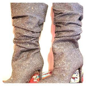 Rhinestone Jessica Simpson Boots